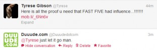 Just Let It Go Tyrese!